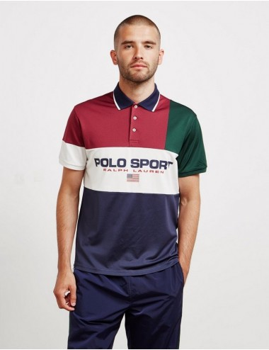 Blocked Polo sport  manga...
