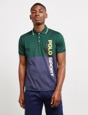 Block Green Polo by Ralph...